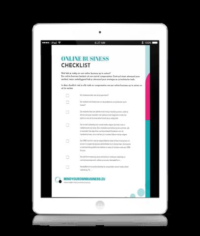 checklist online business